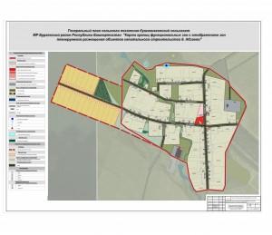Карта границ фз Абзаево